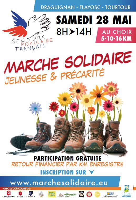 affiche marche solidaire