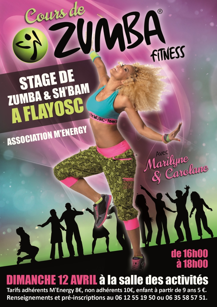Affiche Zumba Party 2015 ld