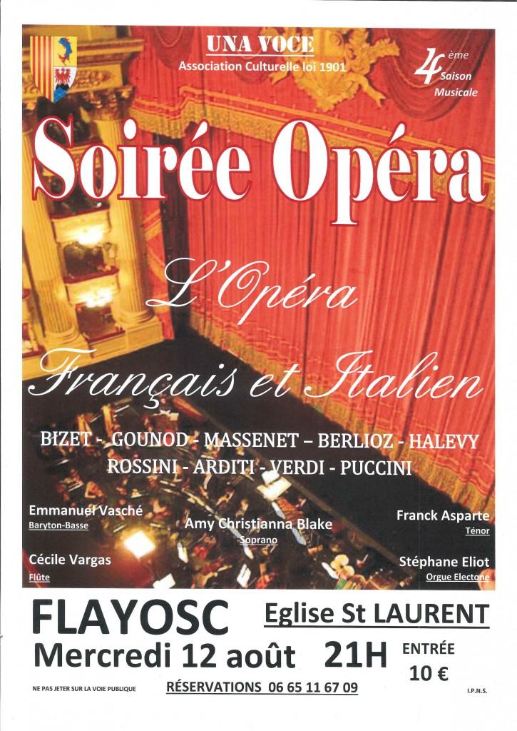 Soirée opéra