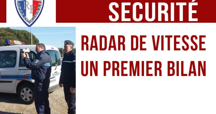 sécurité - bilan radar