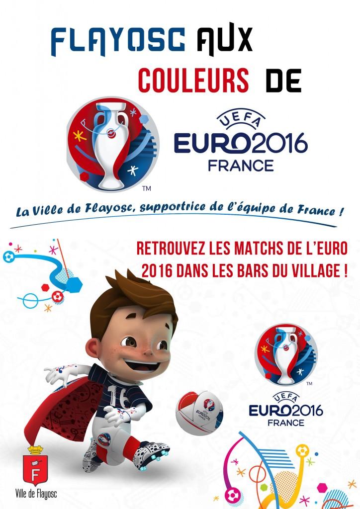 affiche euro 2016
