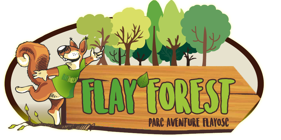logo flay forest