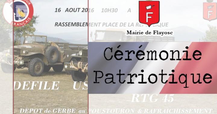 Cérémonie souvenir français