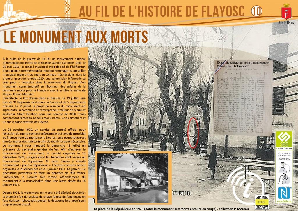 10 Monument aux morts