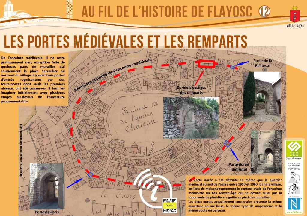 12 Portes médiévales et remparts