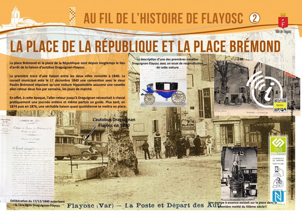 2 Place de la république et Brémond
