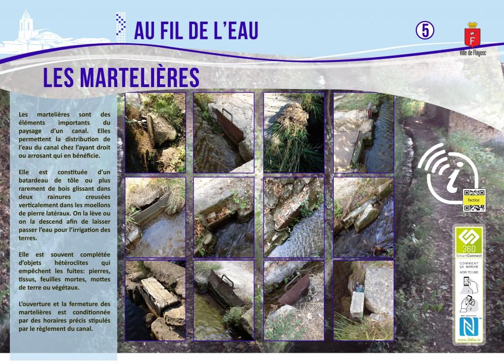 5 Les martelières