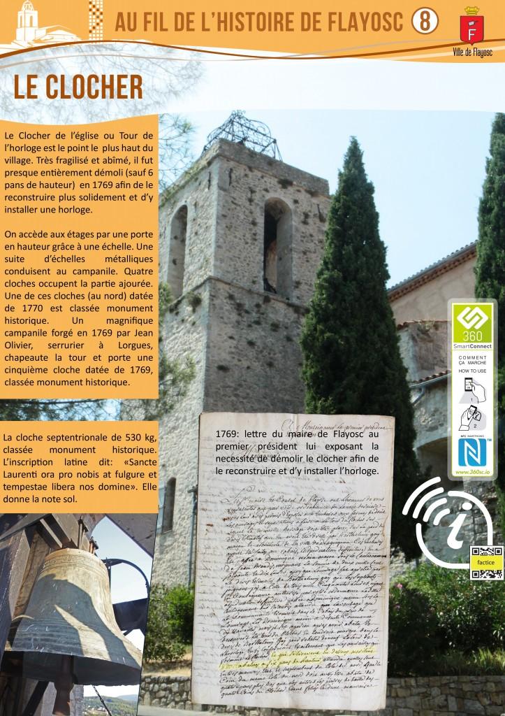 8 Le clocher