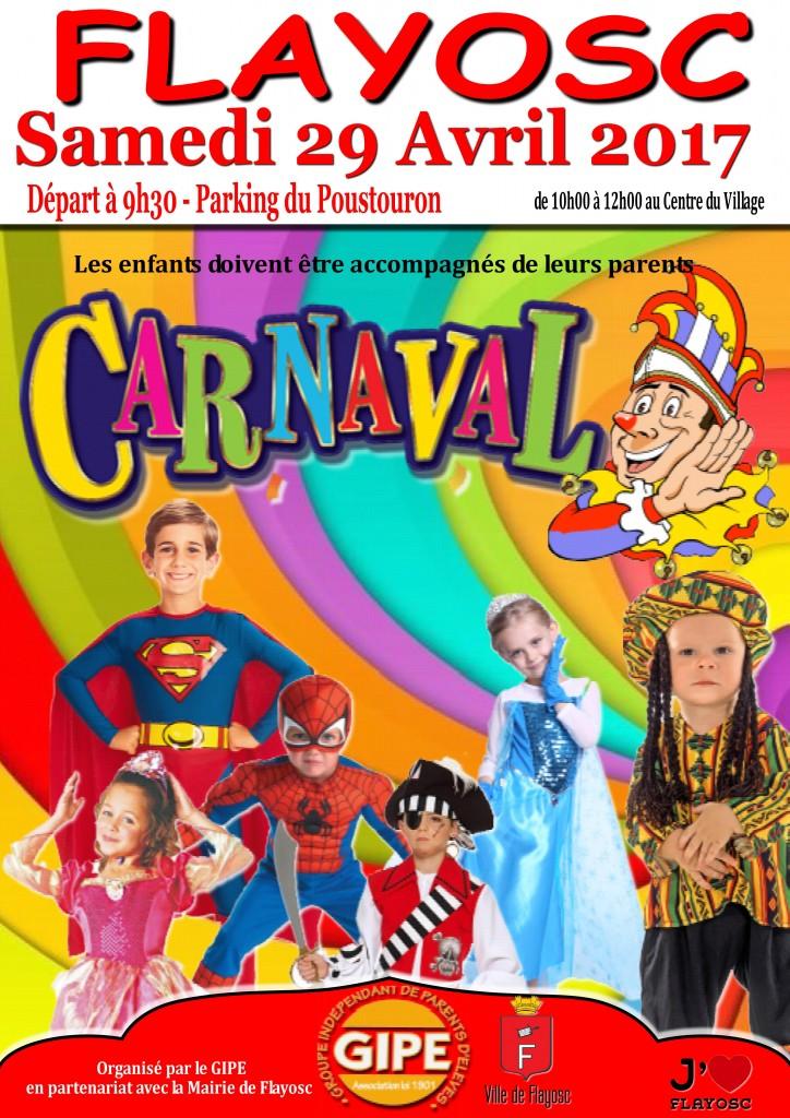 Affiche Carnaval 2017