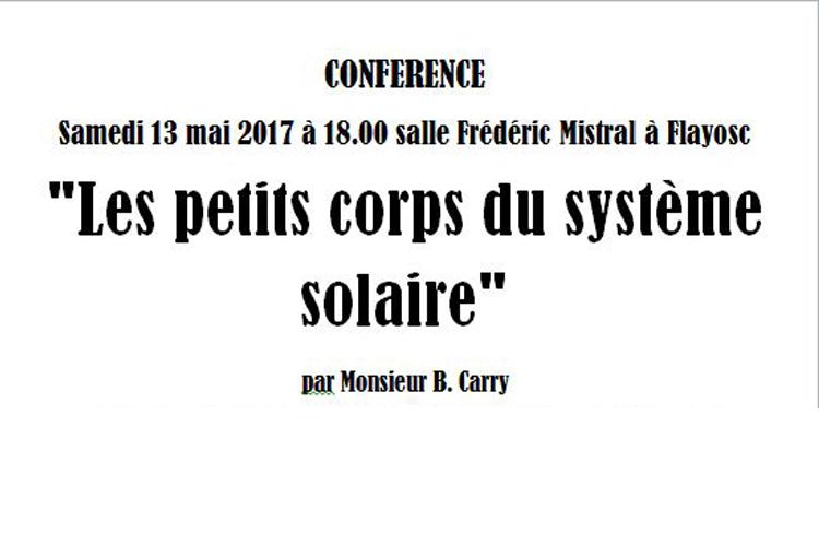 Conférence astronomie