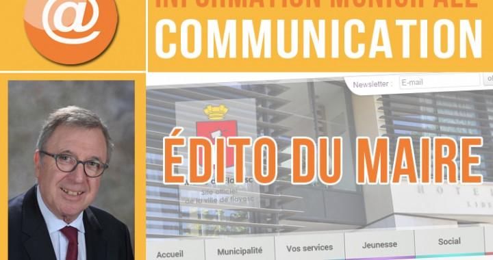 Edito du Maire CT