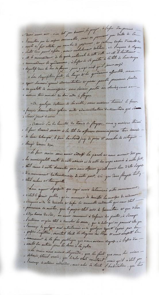 Procès verbal du directoire du district de draguignan page2(4 mai 1792)