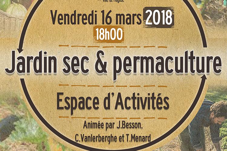 Conférence Jardin sec et permaculture