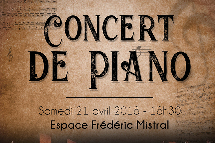 Concert de piano