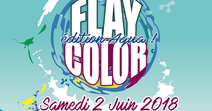 Flay color aqua