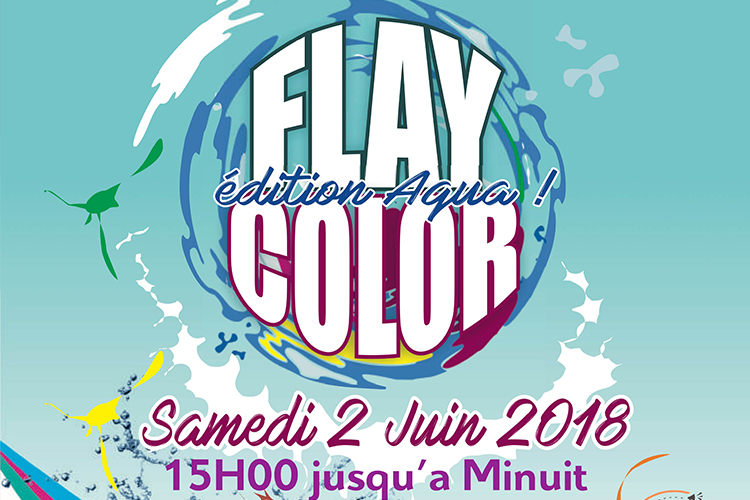 Flay Color édition Aqua