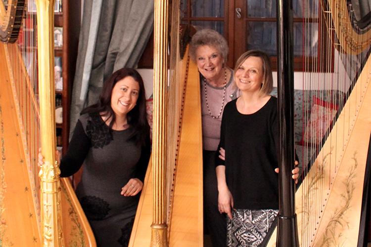 Concert «3 harpes en mouvement»