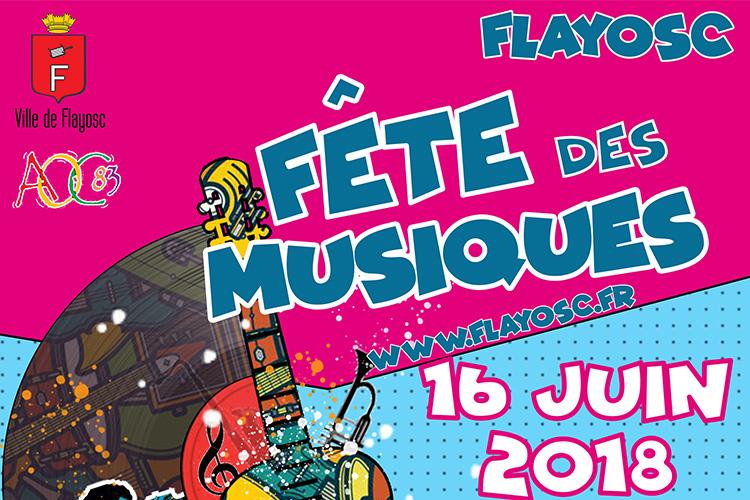 Fête des Musiques, rdv le 16 juin !