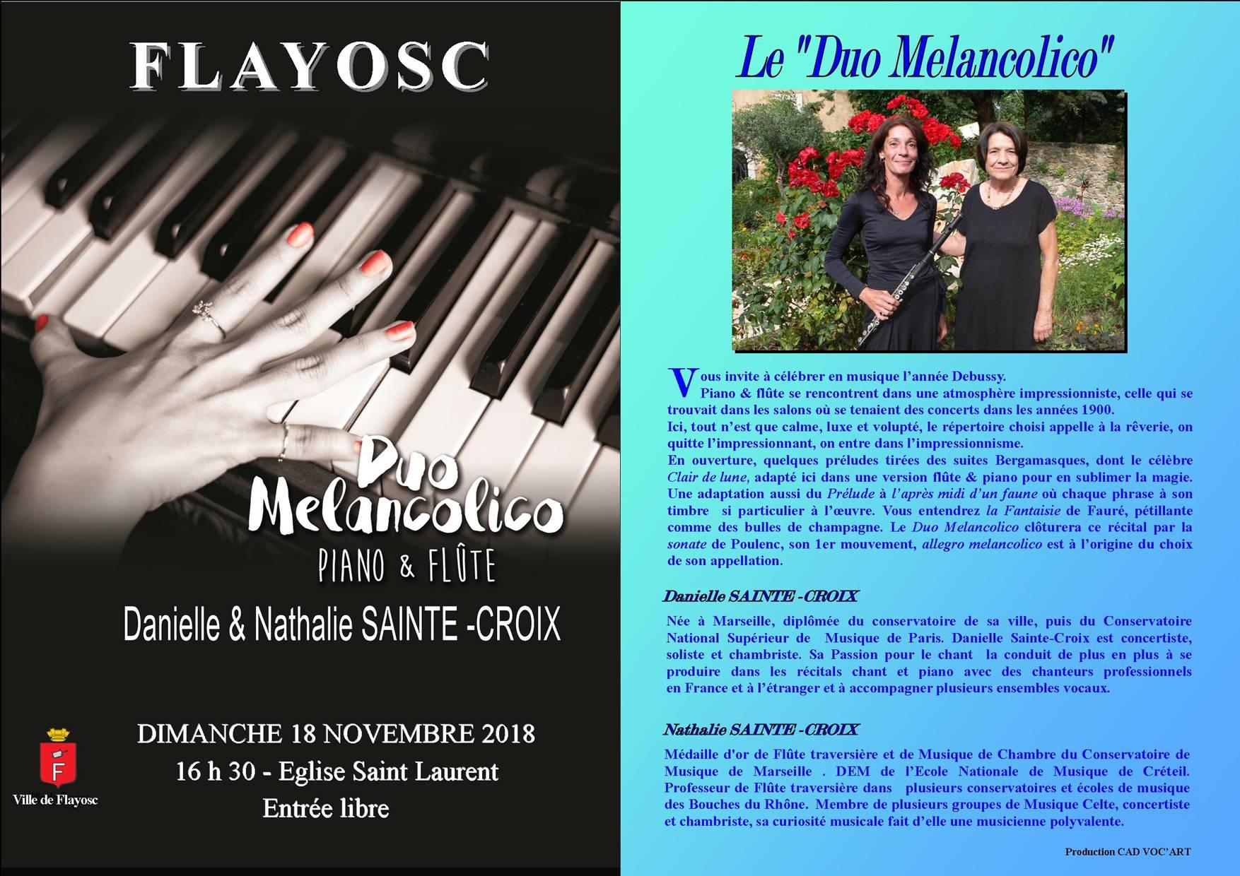 Concert Piano et flûte