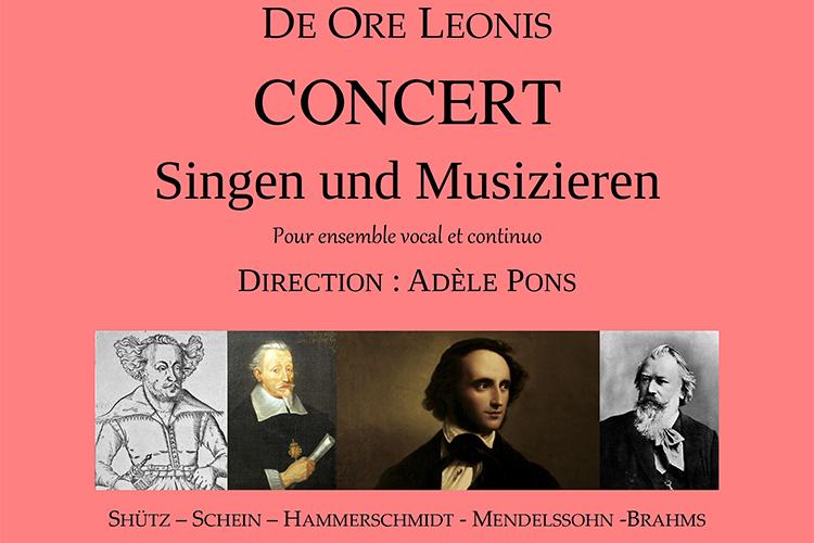 Concert Singen und Musizieren