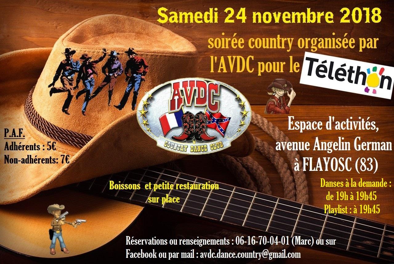 Soirée country AVDC !