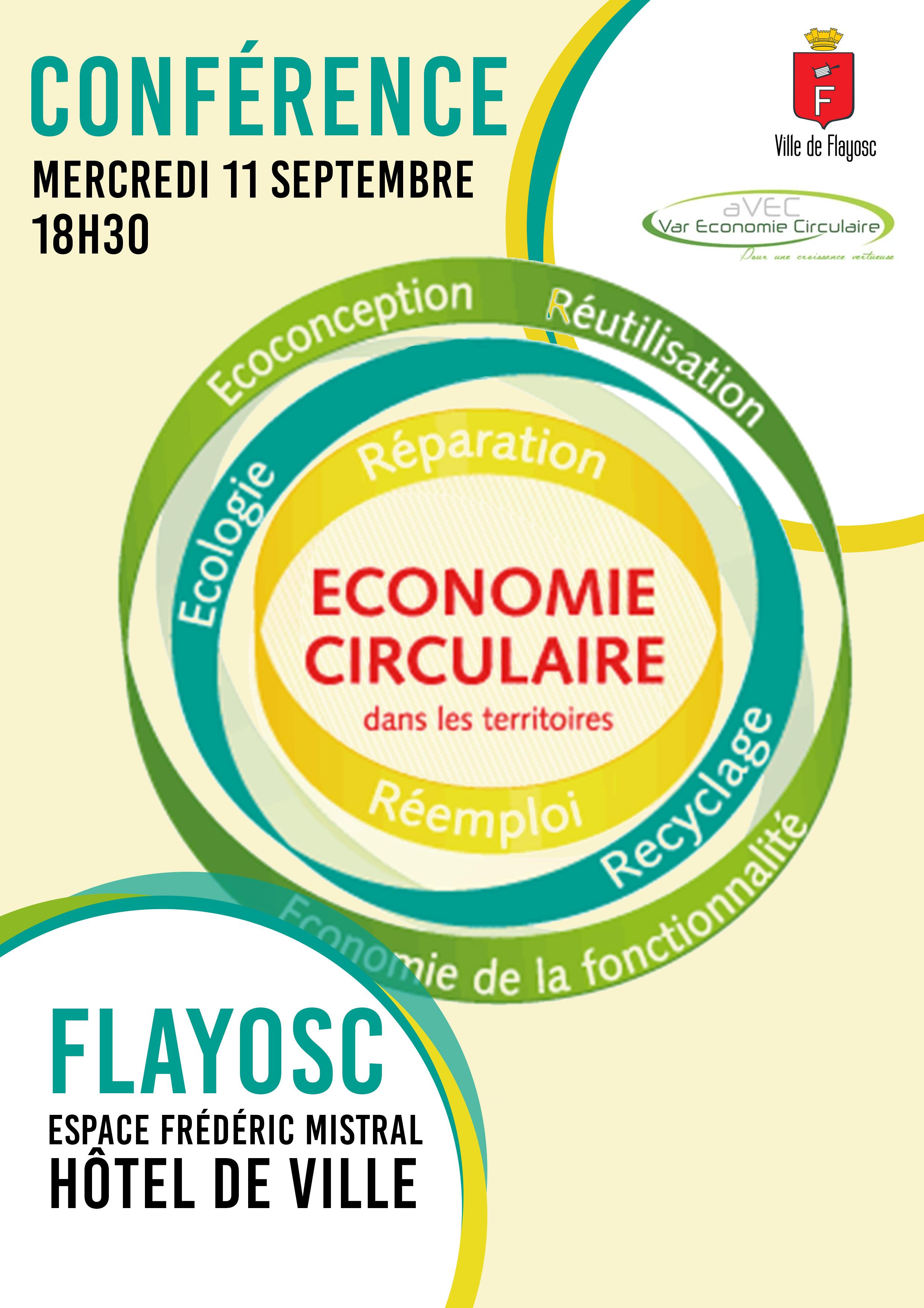 Conférence économie circulaire