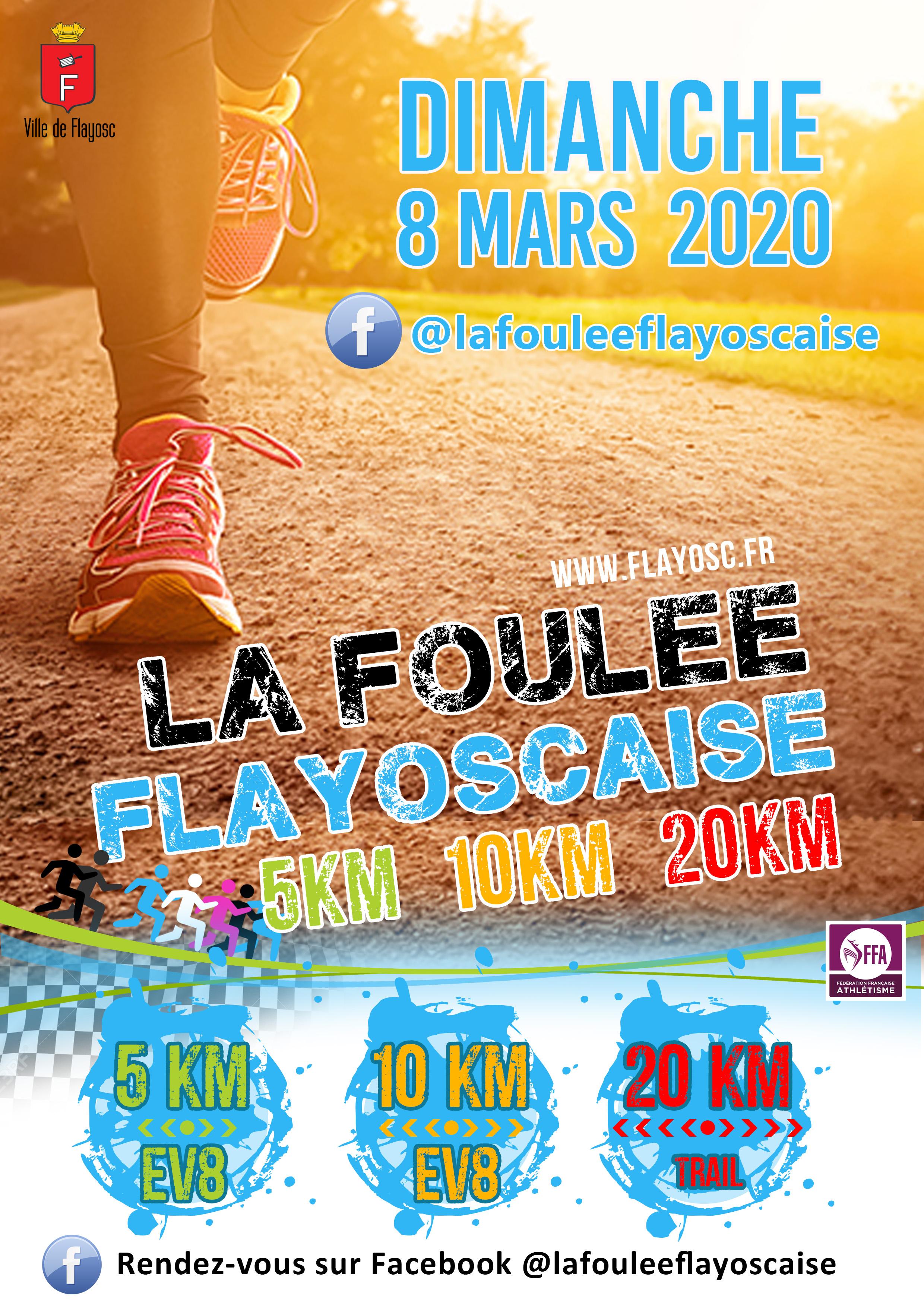 Foulée Flayoscaise édition 2020 !