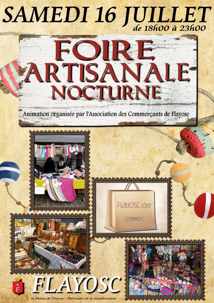 Foire artisanale 2016