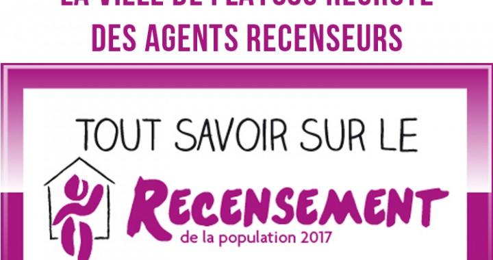 la ville de flayosc recrute pour le recensement de la population