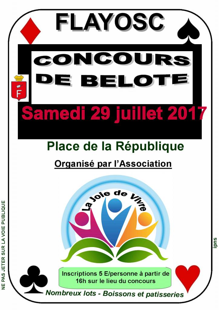 concours de belote 201723