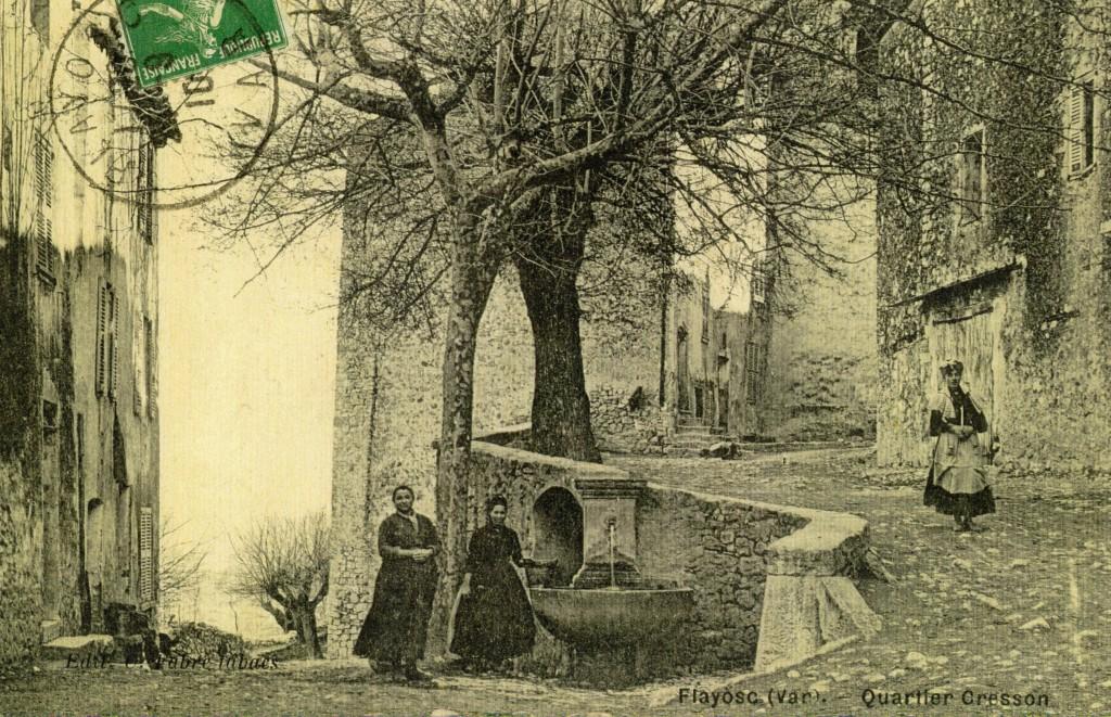 PLACE CRESSON FONTAINE en 1910