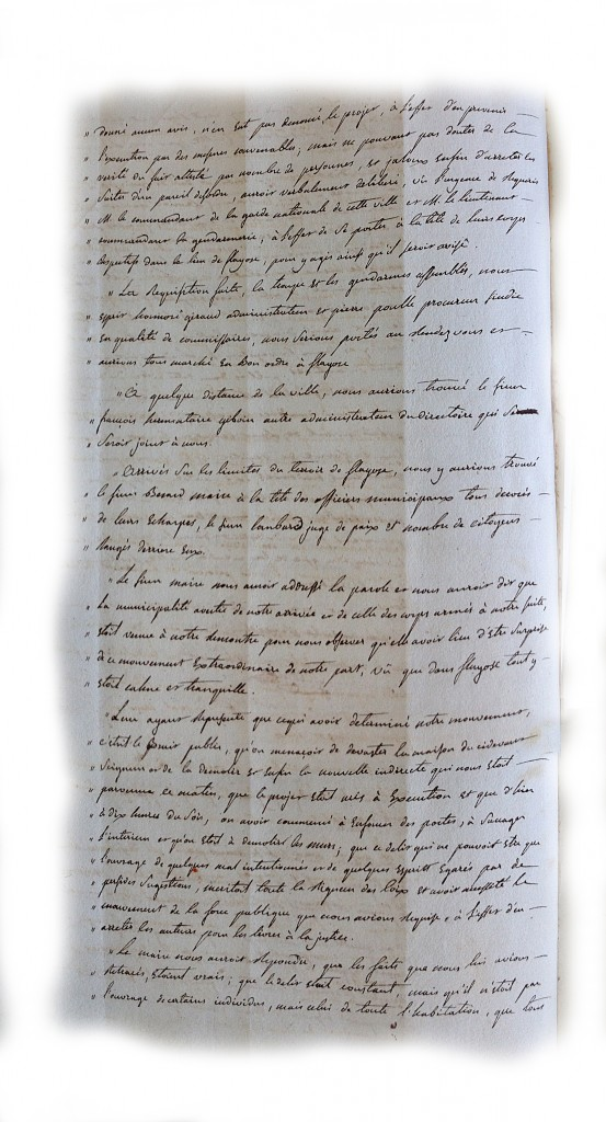 Procès verbal du directoire du district de draguignan page2(4 mai 1792)