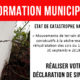 information municipale arrêté secheresse